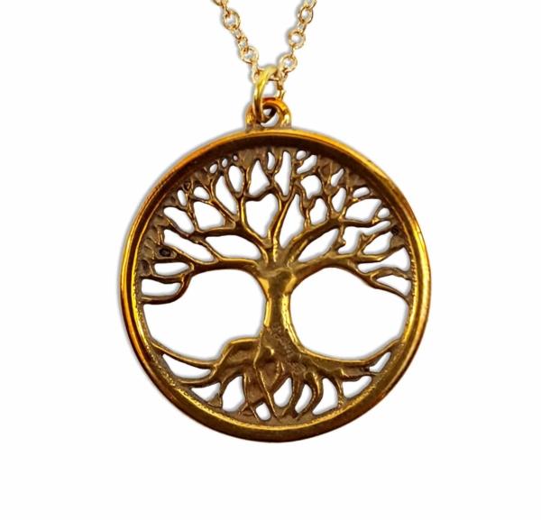 Bronze Tree of Life Pendant