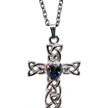 Mystic Celtic Cross Necklace