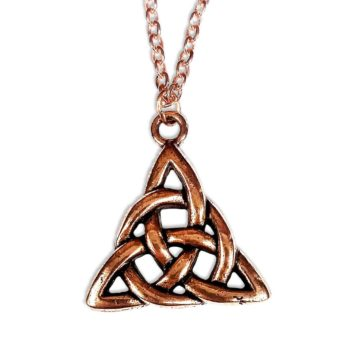 Copper Triskle Necklace
