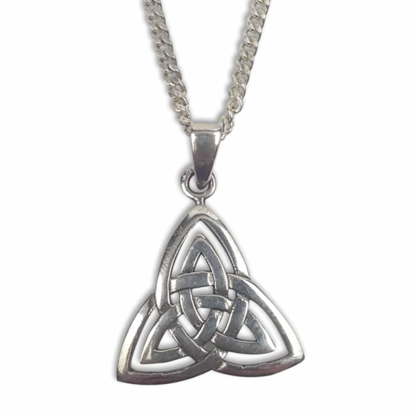 A trinity Celtic knot necklace from the Celtic Croft