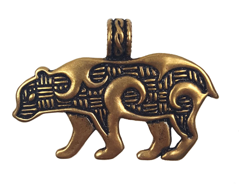 Bronze Bear Pendant