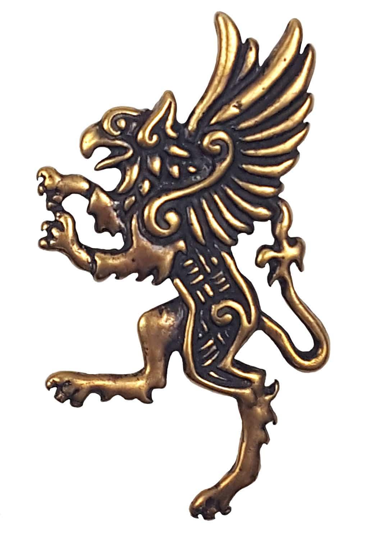 Bronze Celtic Griffin Pendant