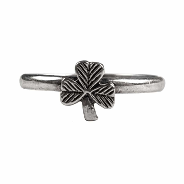 Small Shamrock Ring