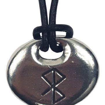 Peace & Happiness Bind Rune Pendant