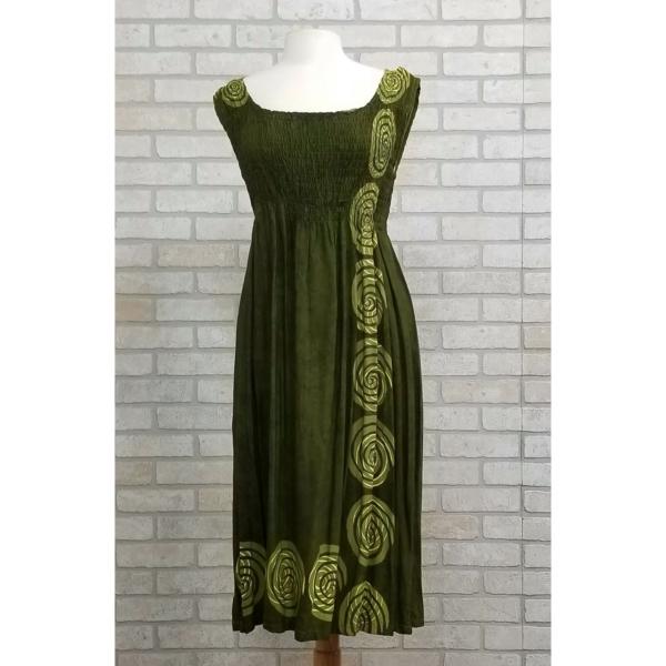 Green Celtic Knot Summer Dress