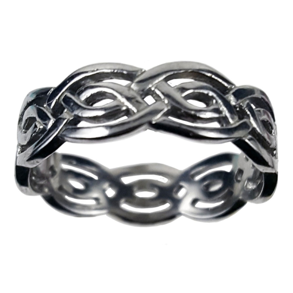 Stainless Steel Eternity Knot Ring