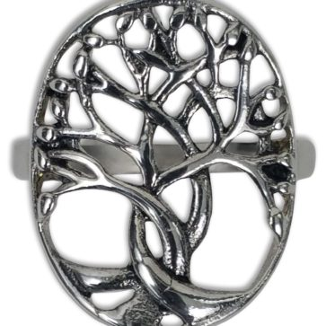 Stainless Steel Celtic Tree of Life Ring