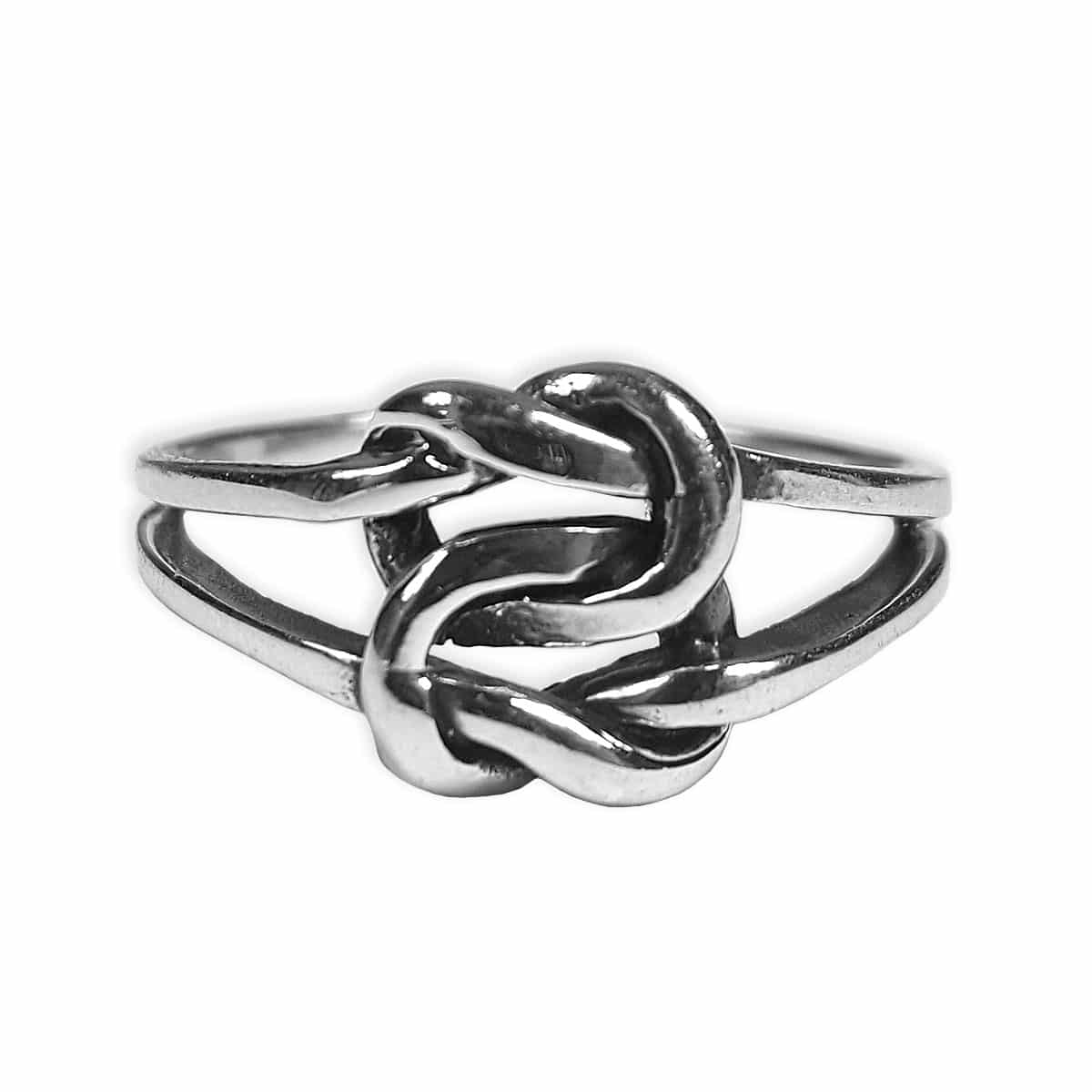 A Celtic love knot ring from the Celtic Croft