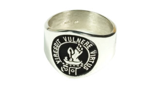 Sterling Silver Clan Crest Ring