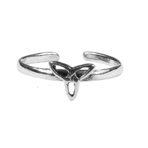 Triskle Toe Ring