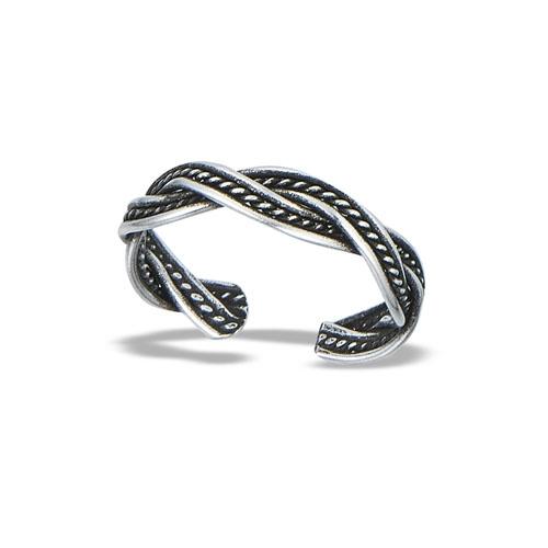 Celtic Braid Sterling Silver Toe Ring
