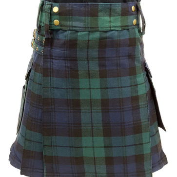 Black Watch Tartan Utility Kilt