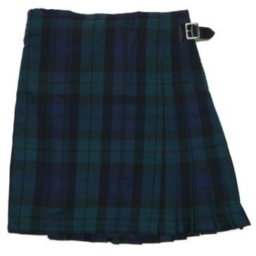 Black Watch Poly Viscose Kilt