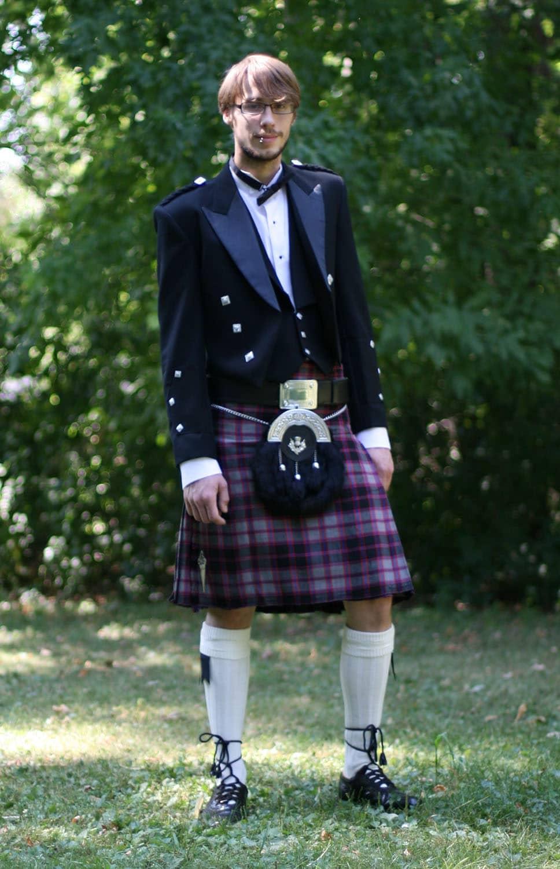 Prince Charlie Formal Rental Accessories Package