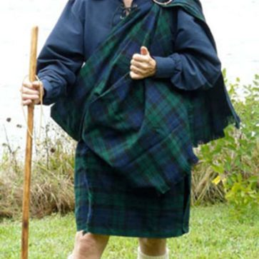 Poly Viscose Great Kilt