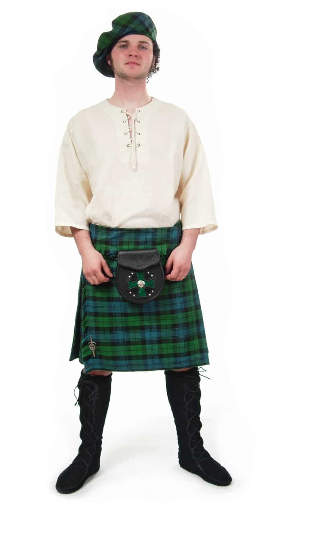 Homespun Wool Blend Irish Phillabeg