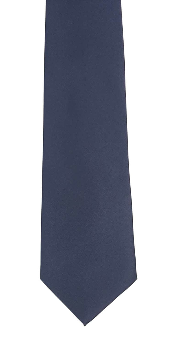 Navy Blue Neck Tie(Hard to see, but its a very dark navy blue)
