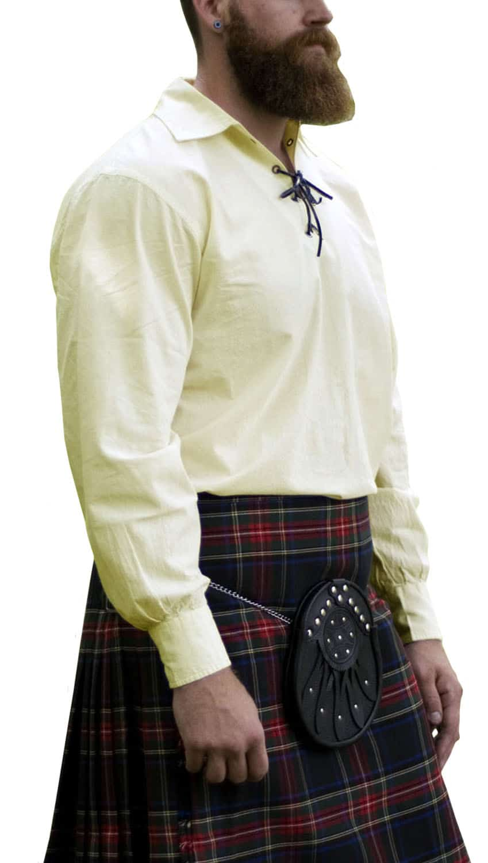 Poly Micro Jacobite Kilt Shirt