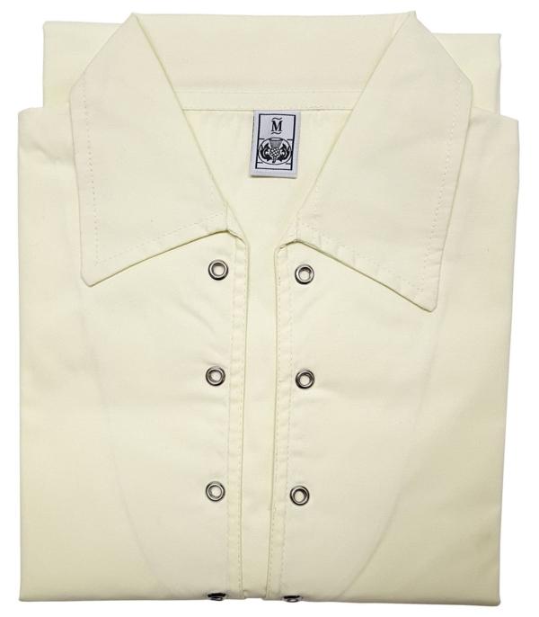Poly Micro Jacobite Shirt - Off White