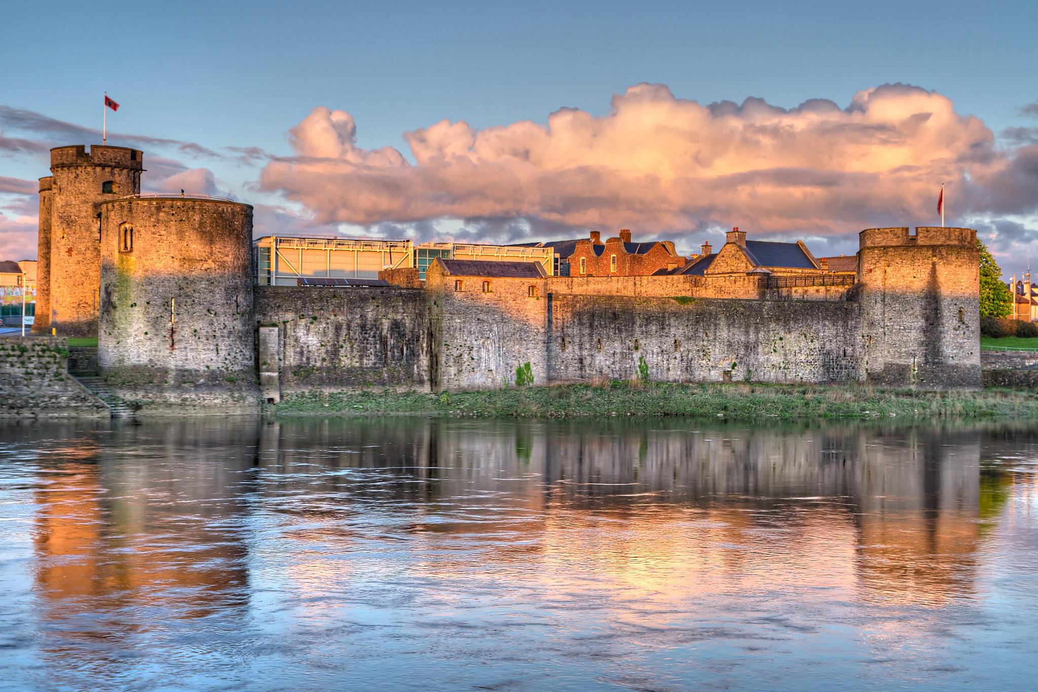 King John Castle in Ireland