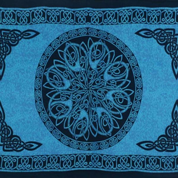 Celtic Sarong Turquois Celtic Knot Circle