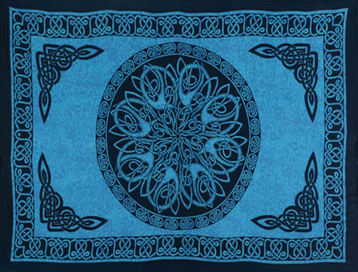 Celtic Sarong Turquois Celtic Knot Circle