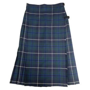 Douglas Green Kilted Skirt
