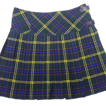 LKMHS-IS-1808 US Army Homespun Mini Skirt 28W 16-5L