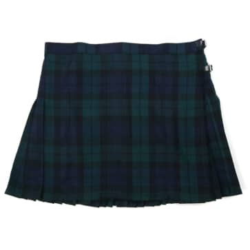 LKSPVP-IS-1897 Poly Viscose Kilted Skirt