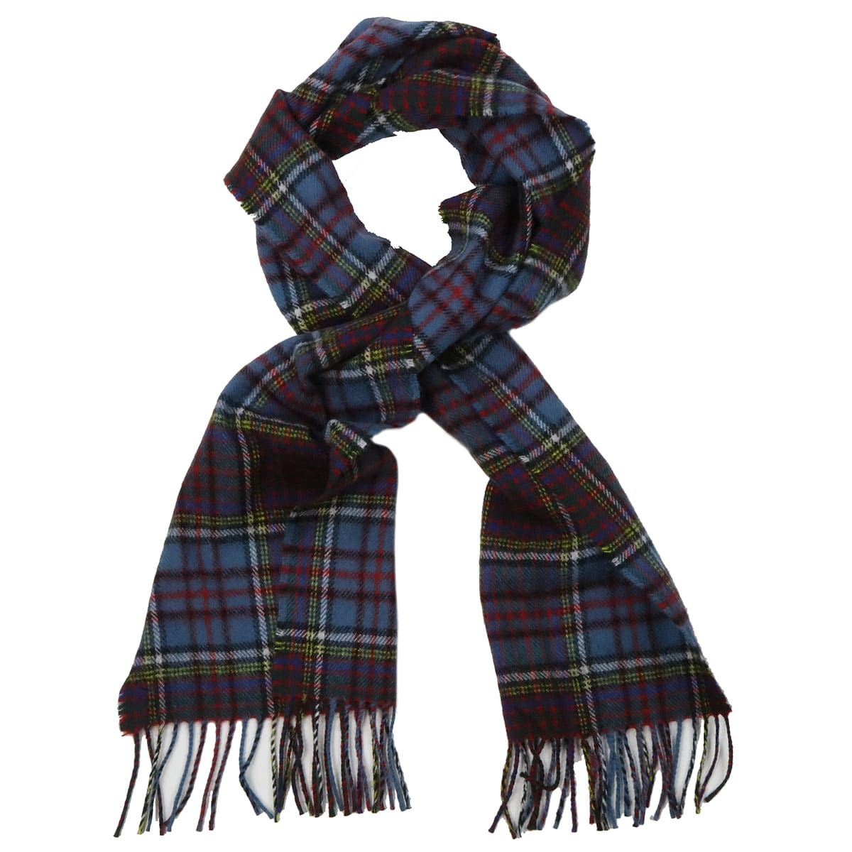 Stewart Navy Modern Tartan Clan Scarf 100/% Soft Lambswool
