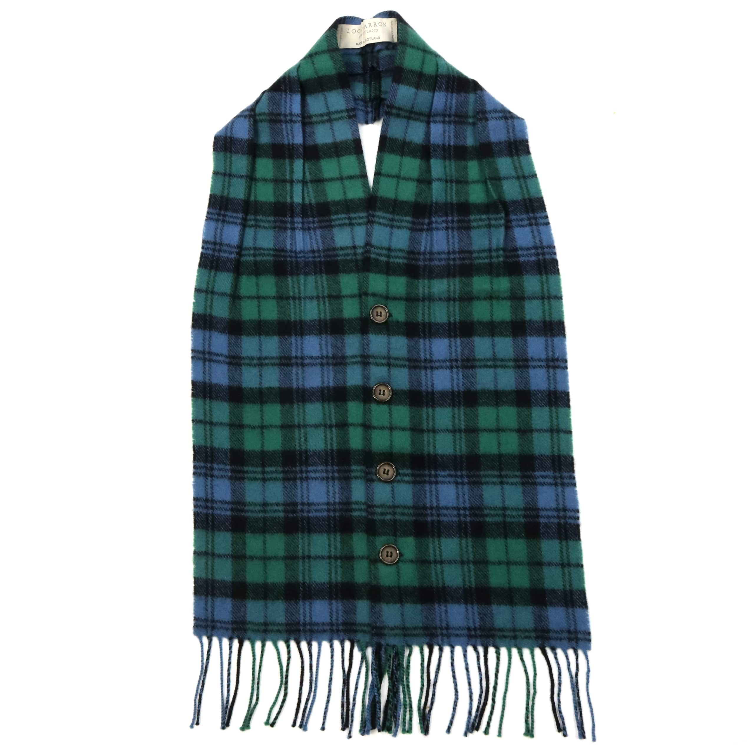 Elliot Modern Tartan 100/% Lambswool Clan Scarf Made in Scotland