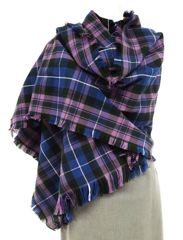Pride of Scotland tartan stole