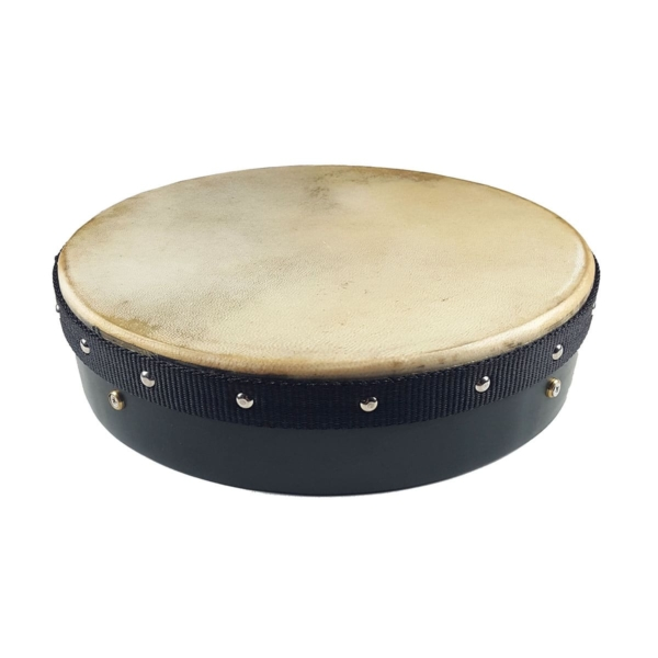 Green Tacked Frame 12 inch Bodhran