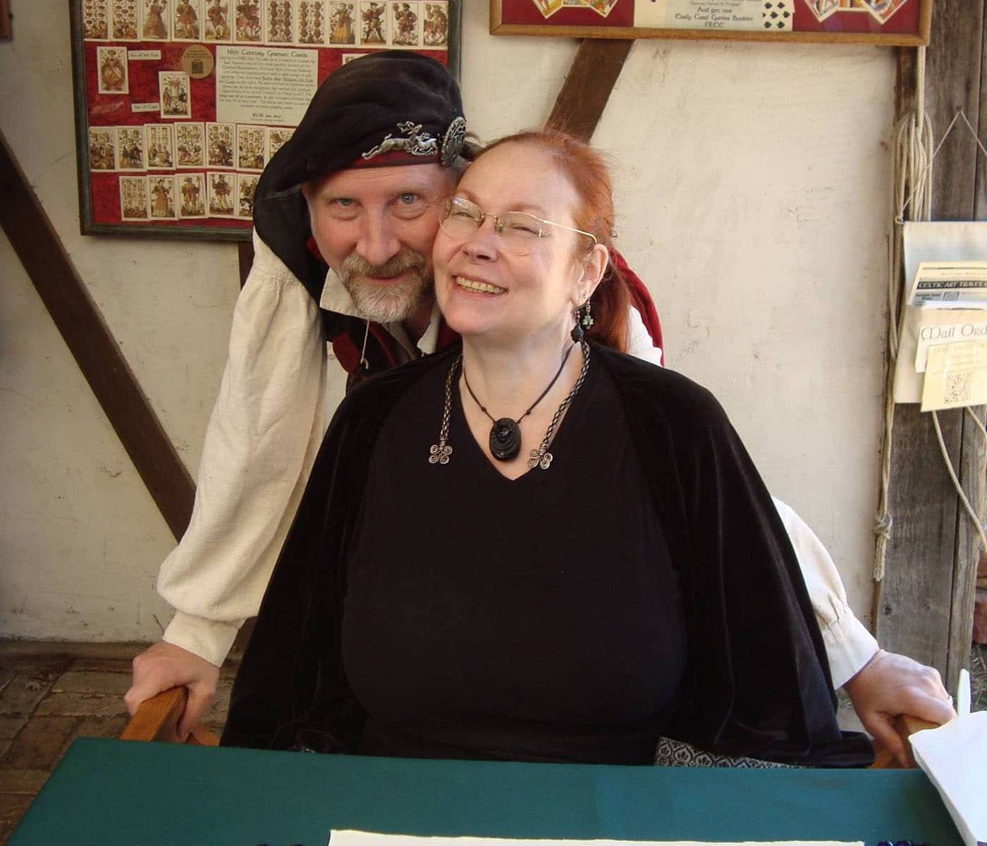 Beth and Charles of MacGregor Historic Games