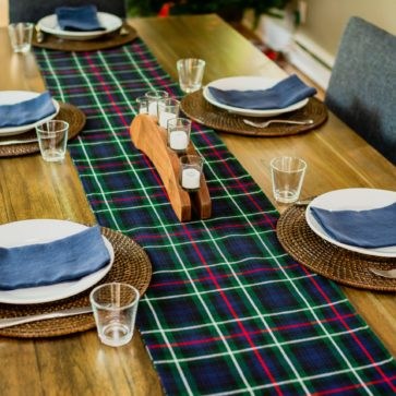Tartan Table Linens