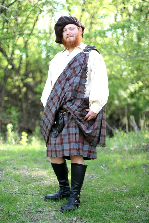 OUTLANDER Tartan Great Kilt