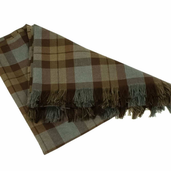 OUTLANDER Throw/Blanket Authentic Premium Wool Tartan