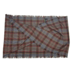 Fraser Short Scarf with Cross