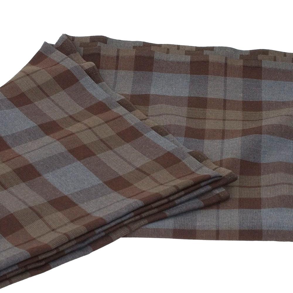 tartan folded