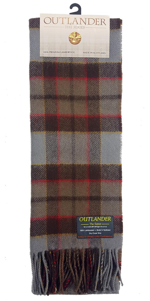 OUTLANDER Fraser Scarf Premium Lambswool Tartan