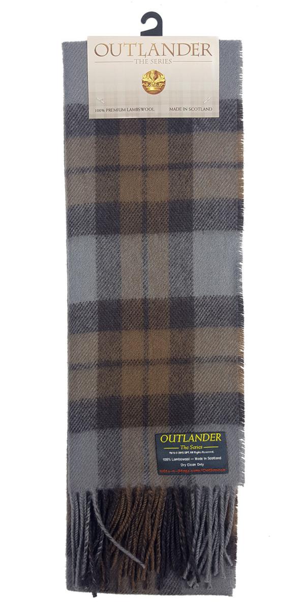 OUTLANDER Scarf Premium Lambswool Tartan