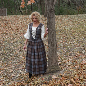 Outlander Bodice and Skirt