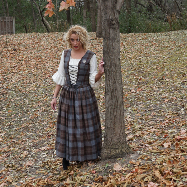 Outlander Bodice and Skirt