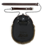SACQBR Quality Brown Chain Strap Pictured With Sporran
