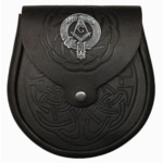 Celtic Circle Embossed Masonic Sporran