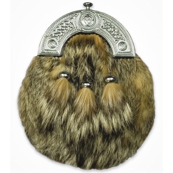 Fox Fur Sporran