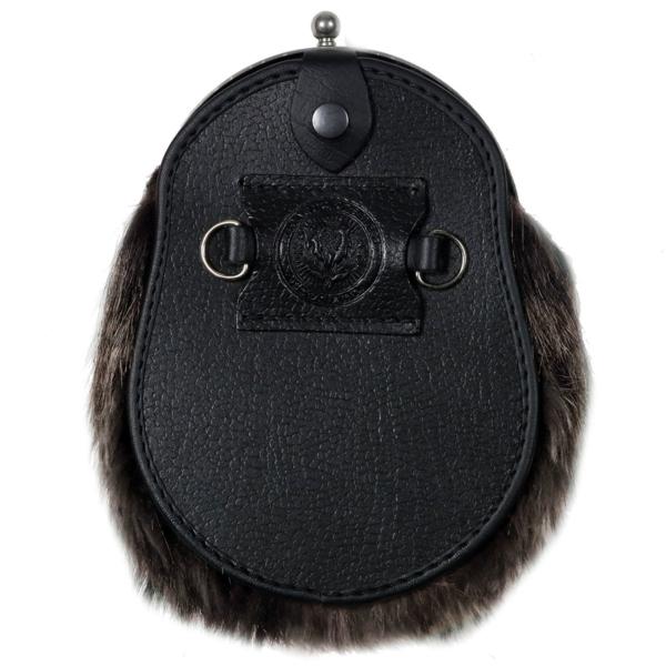 Faux Brown Bear Dress Sporran
