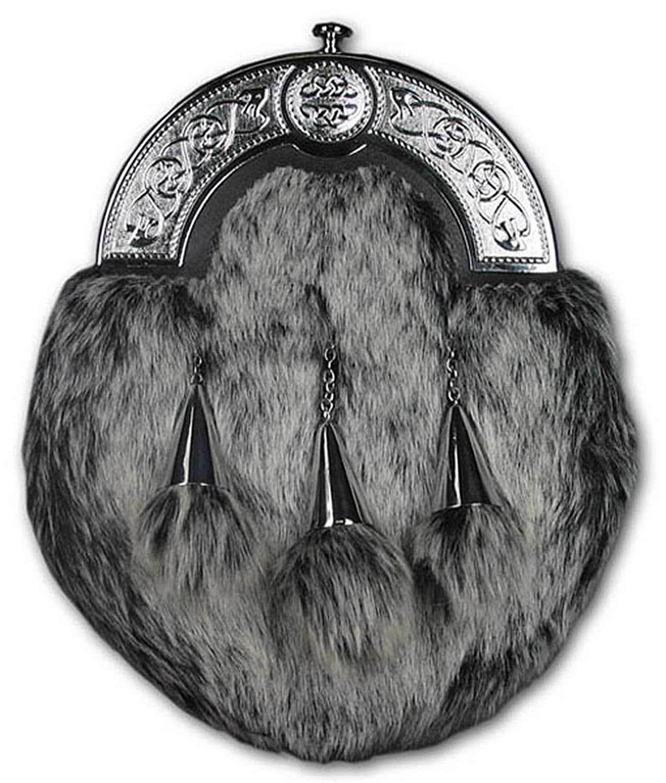 Faux Artic Wolf Dress Sporran