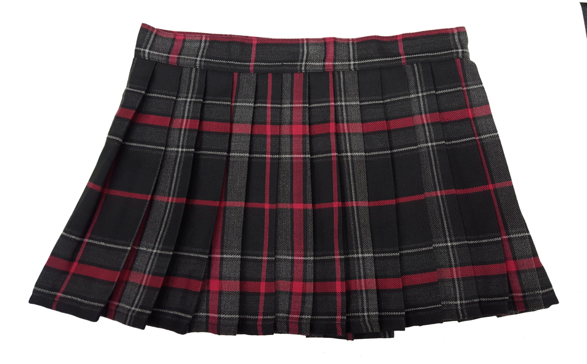 Spirit of Bruce Tartan Poly/Viscose Kilted Mini Skirts