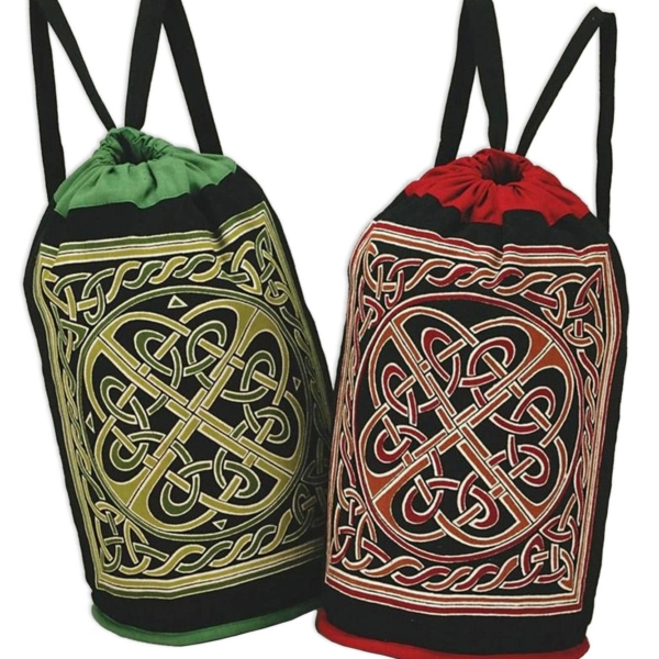 Celtic Knot Backpack Tote Bags